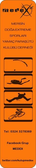 Mersin Doğa Extreme Sporları Yamaç Paraşütü Kulübü Derneği